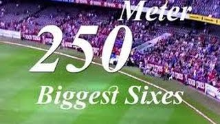 Top 10 Biggest Sixes in Cricket History 2016