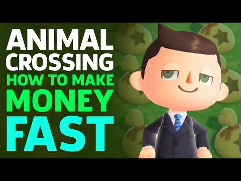 How To Make Money FAST In Animal Crossing New Horizons