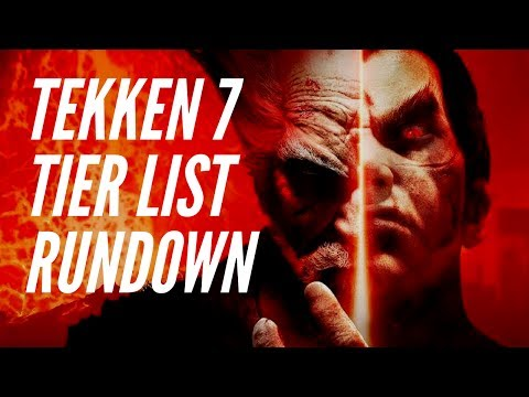Tier List and Roster Balance: Tekken 7 Concepts