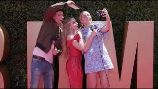 Sabrina Carpenter Red Carpet Interview | 2017 Radio Disney Music Awards