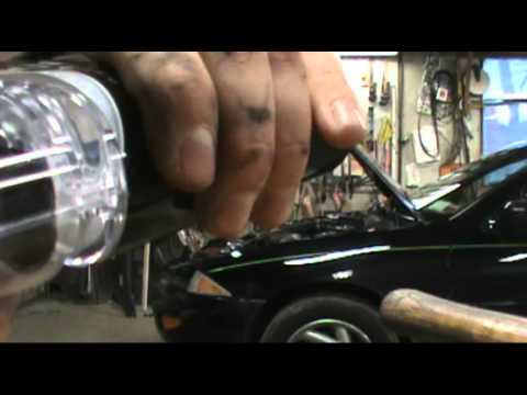 SilverStar zXe Headlight Bulb Installation Review LOTS OF SWEARING