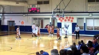 Cody Dever Basketball December 30, 2010