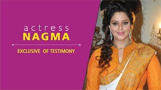 Exclusive Actress Nagma Testimony | Full HD | Tamil Christian