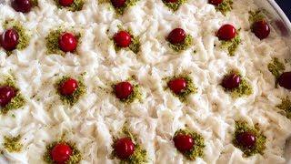 Enfes Güllaç Tarifi-Sütlü Ramazan Tatlısı Güllaç Yapımı-Bera Tatlidunyasi