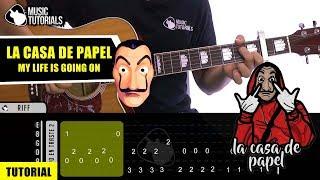 Cómo tocar La Casa de Papel (Tema Principal) en Guitarra | Tutorial + PDF GRATIS