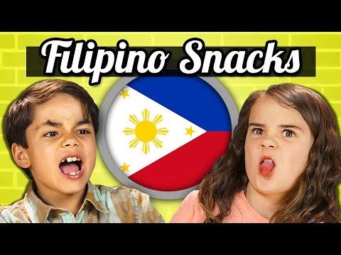 KIDS EAT FILIPINO SNACKS Kids Vs. Food