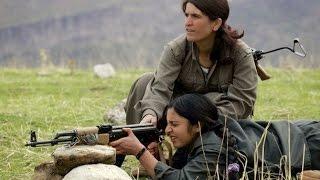 فلسفة الزواج لدى المقاتلات الاكراد في عين العرب