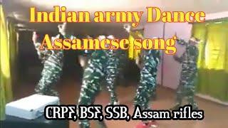 Foji bhai dance with Assamese song