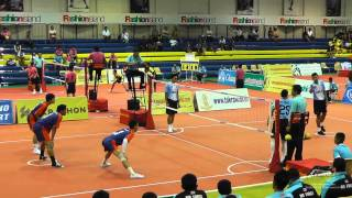 Sepak Takraw Prince Cup 2014 - Air Force vs. Port Authority of Thailand