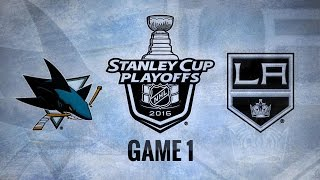Pavelski lifts Sharks to Game 1 win