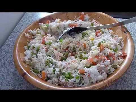 Salade de riz tunisienne Cuisine Tunisienne