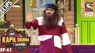 Kapil Sharma as Babaji -The Kapil Sharma Show–20th Nov 2016
