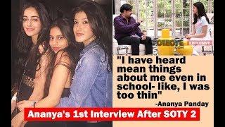 Exclusive: Ananya Panday Interview On Suhana Khan, Shanaya Kapoor, SRK & Soty 2! | SpotboyE