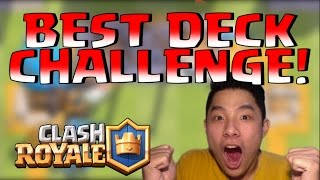 INDO BEST DECK CLAN BATTLE CHALLENGE! • Clash Royale Indonesia