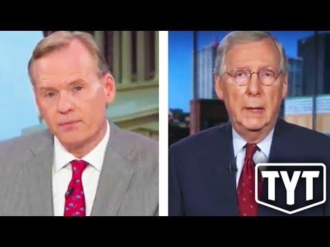 Mitch McConnell Mad For Being Fact Checked Live