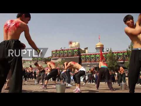 Xxx Mp4 Afghanistan Hundreds Partake In Bloody Ashura Procession 3gp Sex