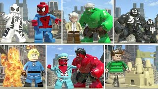 LEGO Marvel Super Heroes - All Transforming Characters