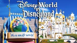 Top Disney World Rides vs Disneyland Rides Pt 3 -  Fantasyland