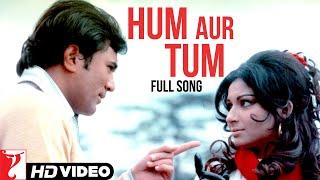Hum Aur Tum - Full Song | Daag | Rajesh Khanna | Sharmila Tagore | Kishore Kumar | Lata Mangeshkar