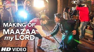 Making of 'Maazaa My Lord' Video Song | Ayushmann Khurrana | Hawaizaada | T-Series