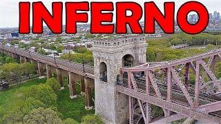 PORTÃO DO INFERNO NO QUEENS / Hell Gate no ASTORIA PARK
