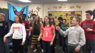 Spanish 2b preposition song