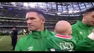 [31.08.2016] Irish national anthem (Robbie Keane