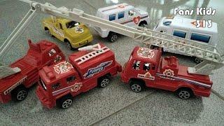 Unboxing I Mainan anak Kendaraan Pemadam Kebakaran I Fire Engine I vidio for kids