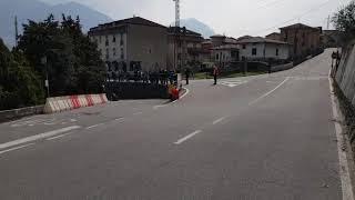 Dimostrativa di speed down a Costa Volpino (BG) - 25 marzo 2018