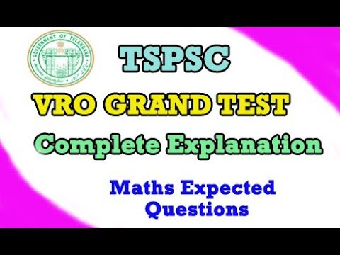 Xxx Mp4 VRO Grand Test VRO Model Paper Complete Explanation By Manavidya 3gp Sex