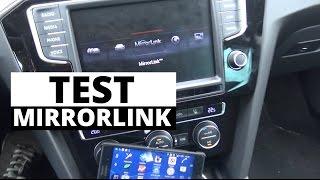 Test MirrorLink w VW Passat B8 - Zachar OFF