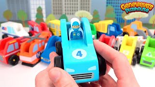 Toy Cars Learning Video for Kids - Teach Toddlers Babies Children Colors & Vehicle Names - Fun Play!