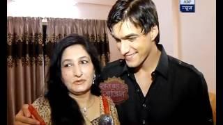 Mohsin Khan aka Kartik celebrates Eid with his family