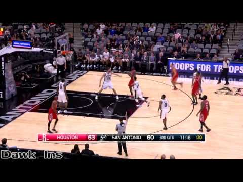 James Harden Triple Double 2016 11 09 at Spurs   24 Pts, 15 Assists, 12 Rebs!
