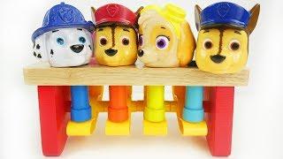 Paw patrol wooden preschool toys