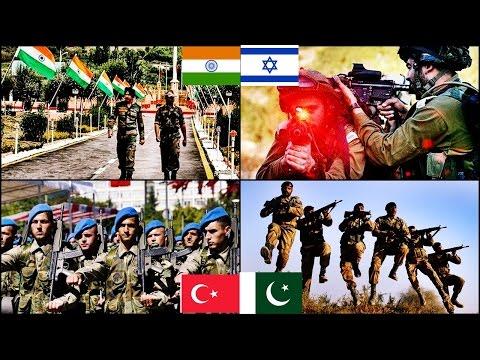 watch Turkey & Pakistan VS India & Israel Military Power Comparison   2016 HD