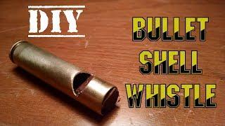 DIY Bullet Shell Emergency Whistle
