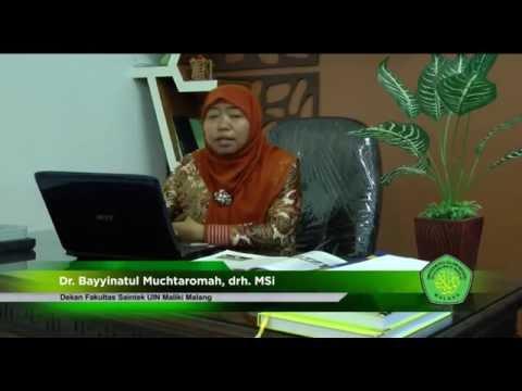 Profil fakultas sains dan teknologi ( Fakultas Tercinta UIN Maliki Malang fakultas Saintek)