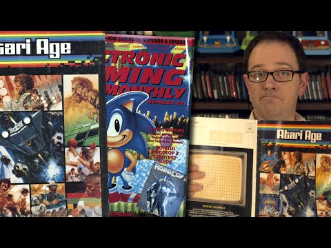 Video Game Magazines Angry Video Game Nerd AVGN