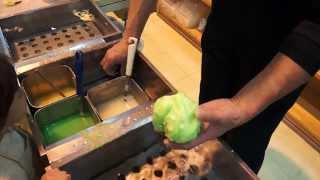 Making japanese food samples