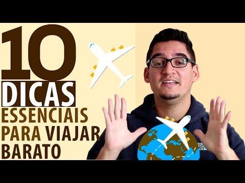 10 DICAS ESSENCIAIS PARA VIAJAR BARATO