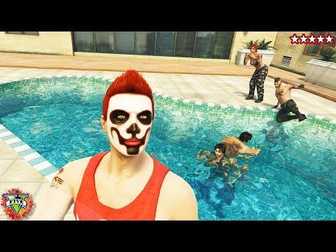 GTA 5 Snipers vs Stunters - Grand Theft Auto 5 Open Lobby
