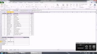 Çokeğersay ve Çoketopla Formülü (Excel)
