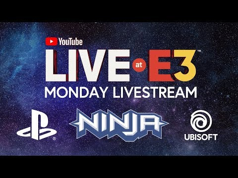 Xxx Mp4 YouTube Live At E3 2018 Monday With Ninja Marshmello PlayStation Ubisoft Todd Howard 3gp Sex