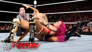 Sasha Banks vs. Summer Rae: Raw, April 4, 2016