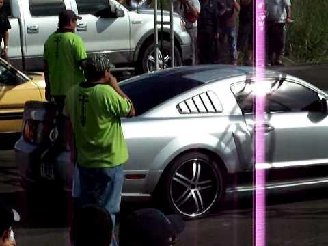 piques en Guanare Mustang VS Mustang GT de Barinas Final Categoria A