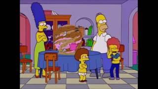 Carnaval de cocina y el caramelo gigante - Los Simpson