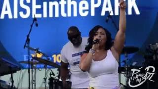 Erica Campbell Live at Praise in the Park 2016