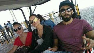 Deepika Padukone And Ranveer Singh SPOTTED At Airport | ANGRY REACTION