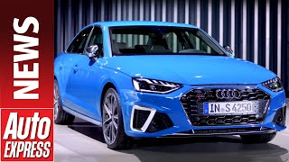 New 2019 Audi A4  - can the facelifted A4 take the fight to the new BMW 3 Series?